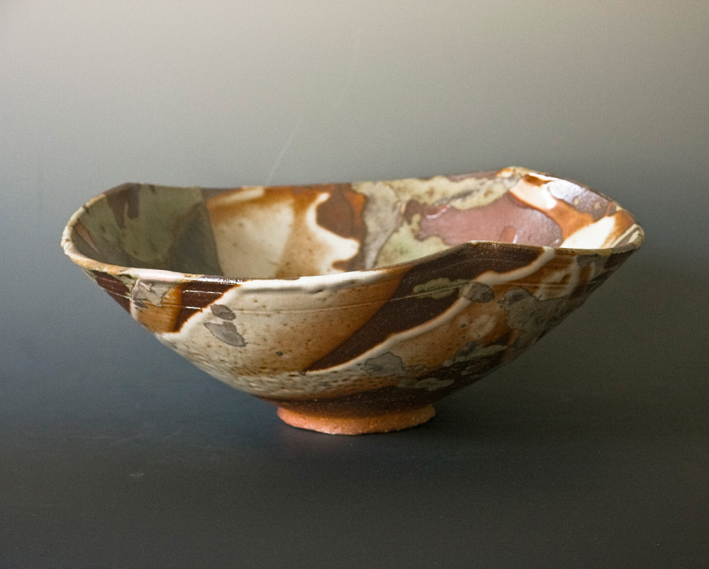 Splash Woodfired Ceramic Bowl Side