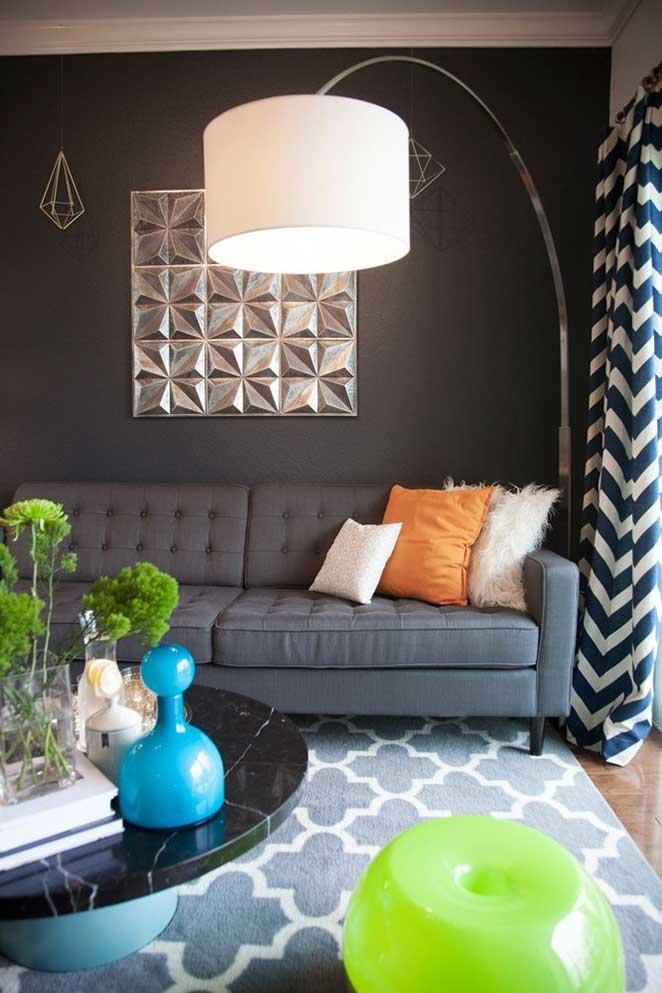 Apartamento pequeno e bem decorado  Minha casa Minha cara