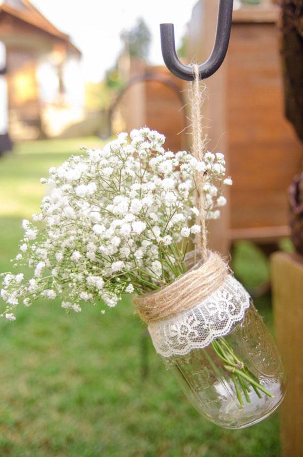 Decorao de casamento simples e bonita
