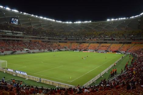 Jogo Flamengo x Vitória, Manaus, 2-14, por LP