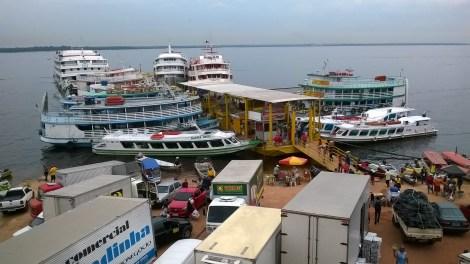 Porto de Manaus, 2014, por LP