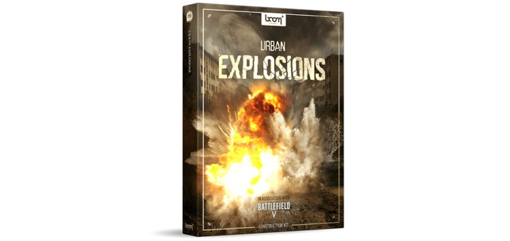Free Download Urban Explosions Bundle - Boom Library