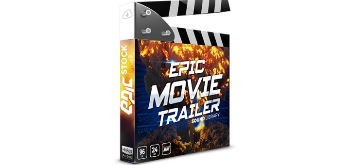 Epic Cinematic Trailer Stock Media