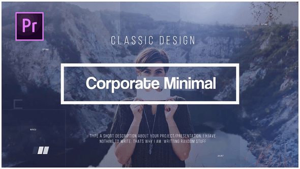 Corporate Minimal Premiere Pro Templates