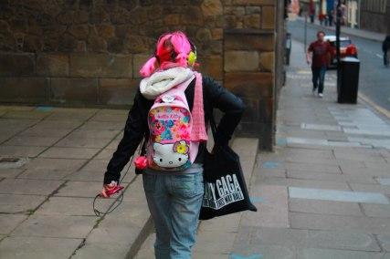 Pinky lady :)