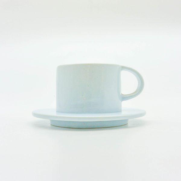 minh tien ceramic morning 04 set saucer handmade pastel