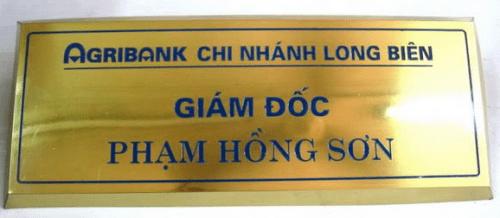 Làm bảng hiệu các loại ở TPHCM - Dịch vụ làm bảng hiệu của Minh Trí