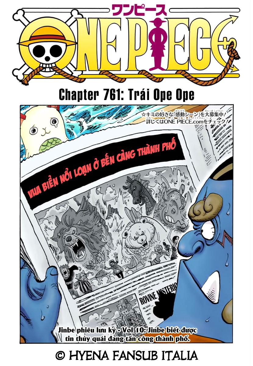 One Piece Chap 761 Full Màu – minhtufashion