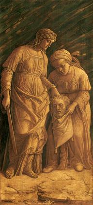 Andrea Mantegna - 1495-1500, Judith et la servante Abra, toile.
