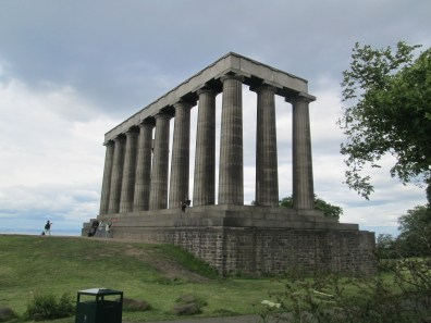 Unfinished Temple on Calton Hill