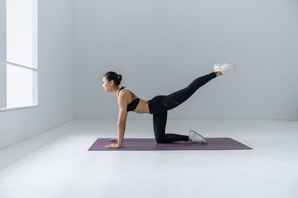 Pilates na je bevalling
