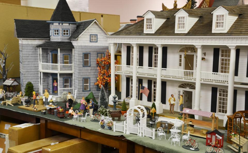 Miniature Cellar Dollhouse Miniatures in Ohio For Collectors of Fine Miniatures
