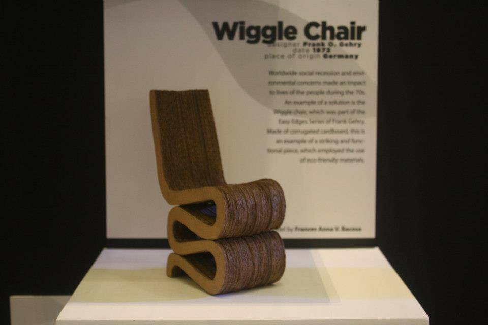 frank gehry cardboard chairs steel office chair wheels wiggle side by miniature
