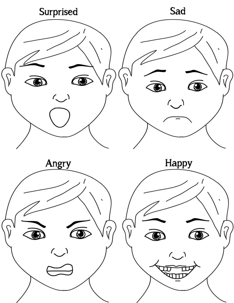 Exploring Emotions Free Printable Game