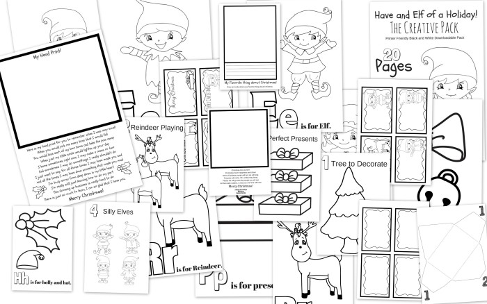Have An Elf of a Holiday Pack 2 The Creative Pack