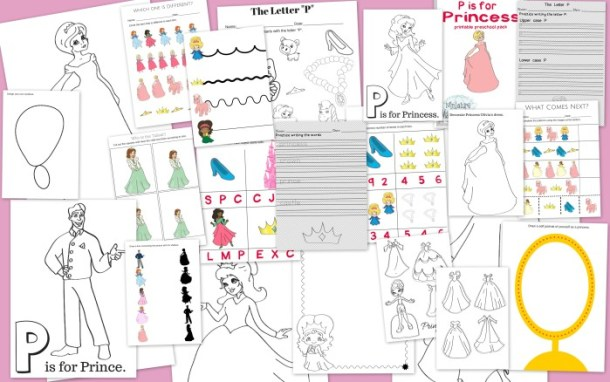 P is For Princess Pack