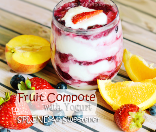 Fruit Compote with SPLENDA® Sweetner #SWEETSWAPS #IC AD