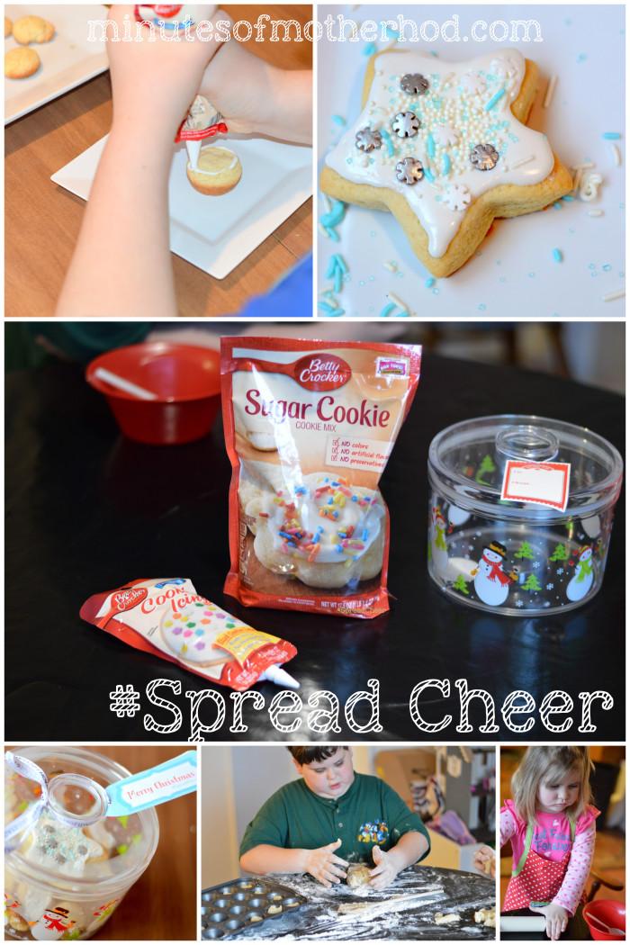 #SpreadCheer With Betty Crocker Sugar Cookies