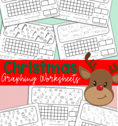 Free Printable Kindergarten and Preschool Christmas Graphing Worksheets –  Miniature Masterminds [ 1280 x 768 Pixel ]
