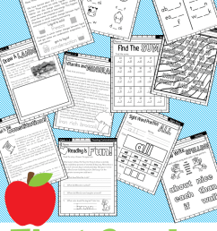 First Grade Home School Curriculum Printable Book Week One – Miniature  Masterminds [ 1280 x 768 Pixel ]