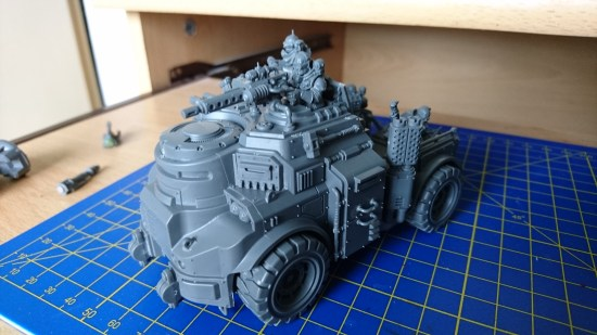 GSC Goliath Truck Front