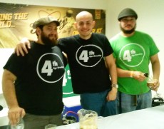 The guys from 4th Age Brewing