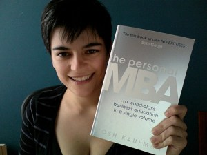 Begoña Martínez con The Personal MBA