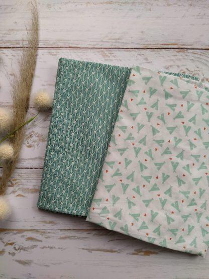 tissu-tipi-feuillage-vert
