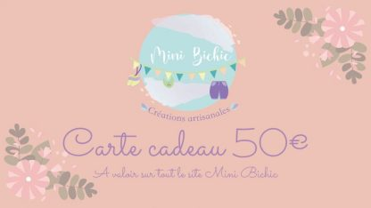 Carte Cadeau 50e
