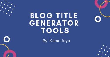5 Best Blog Title Generator Tools Blog Topic Generator Tools
