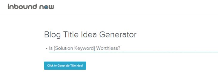 innbound title generator tools