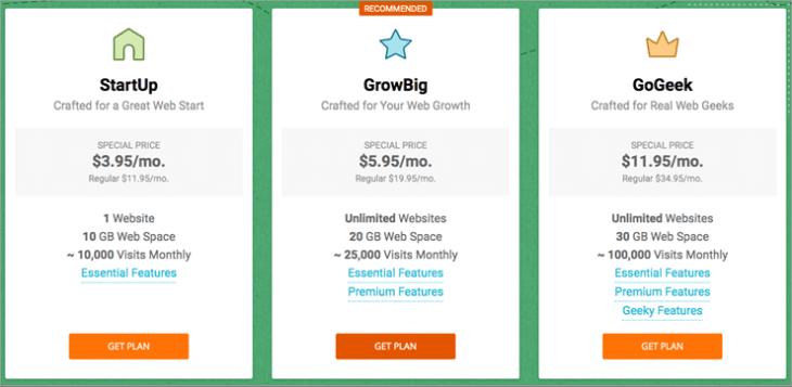 SiteGround web hosting provider