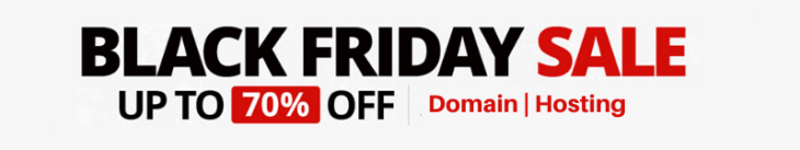 black friday hosting coupon code