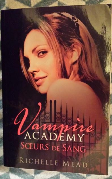unboxing swap noel surprises aurore vampire academy soeurs de sang Richelle Mead