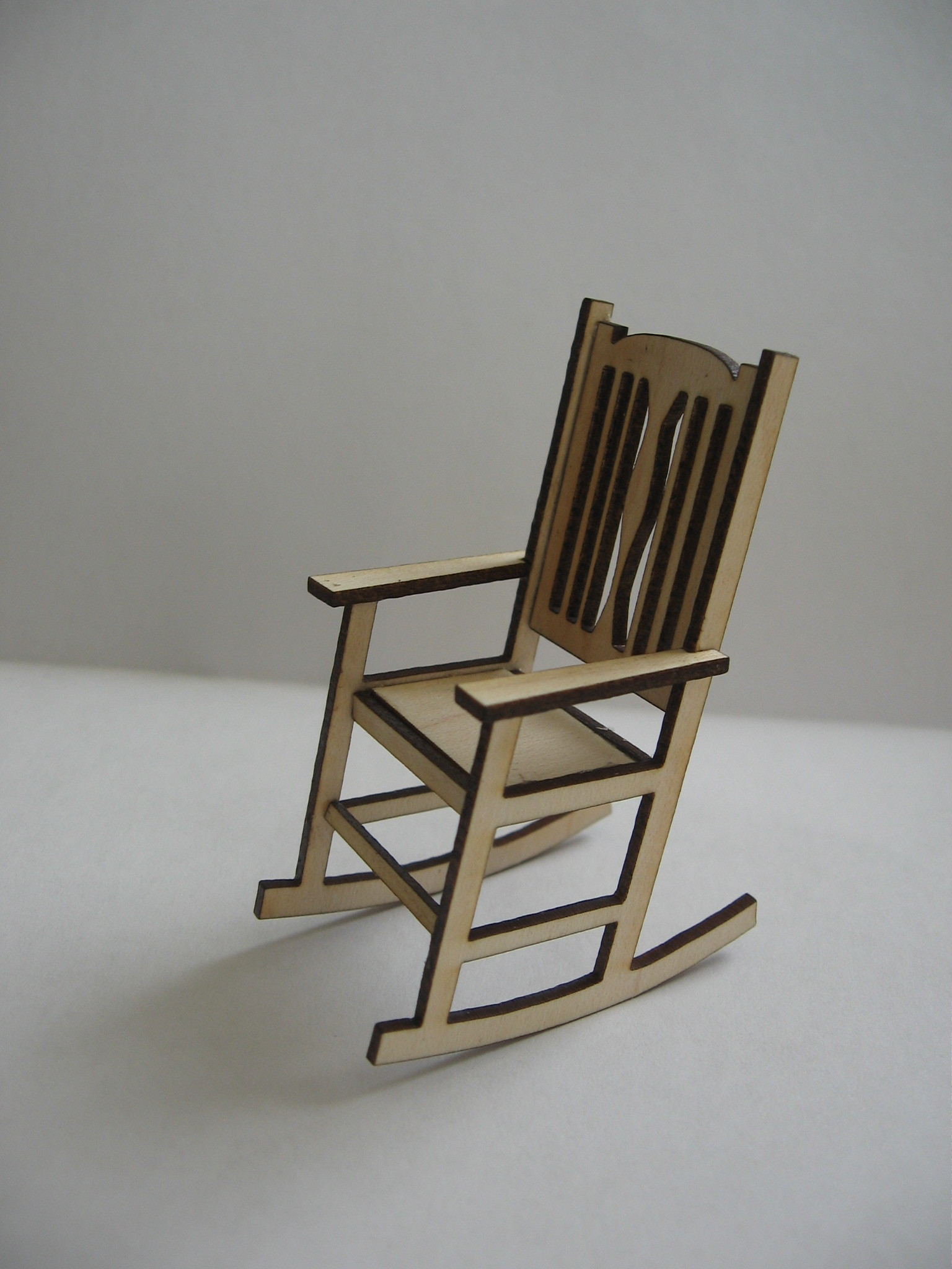 Rocking Chair Kits Rocking Chair For Dollhouse Miniatures