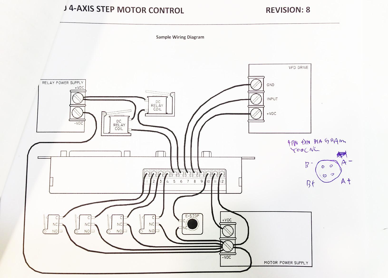 Gecko G540 Stepper Db9 Wiring Diagram. Electrical