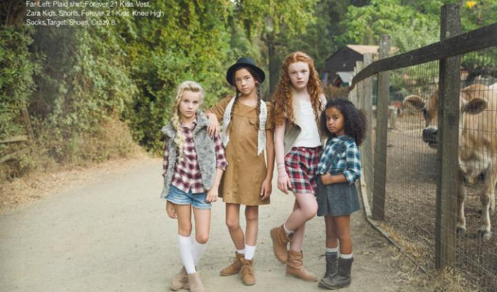 Jaydin for Saplings Magazine Fall 2015