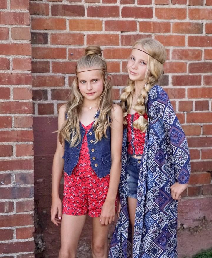 American Tween Girls Fashion: Jak & Peppar Summer 2017- Take 1