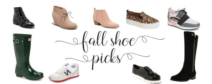 Fall Shoe Picks