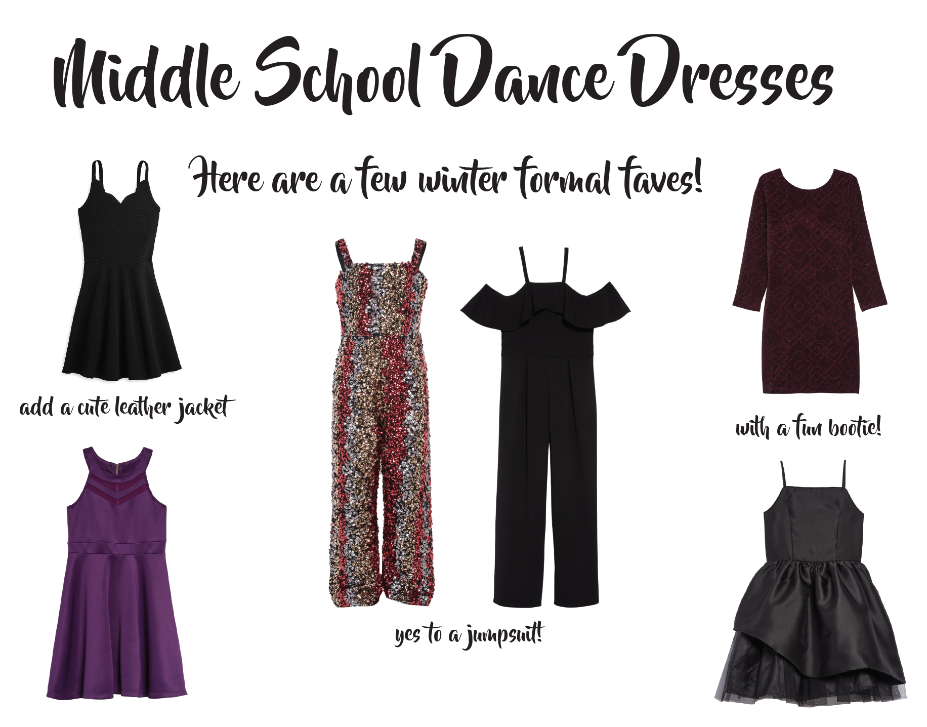 Middle School Dance Dresses Ideas