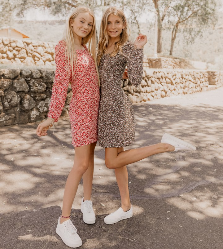 Dresses and Sneaks
