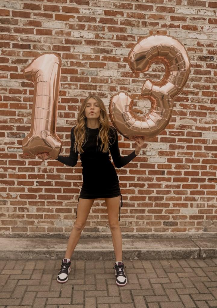Kaiya turns 13!