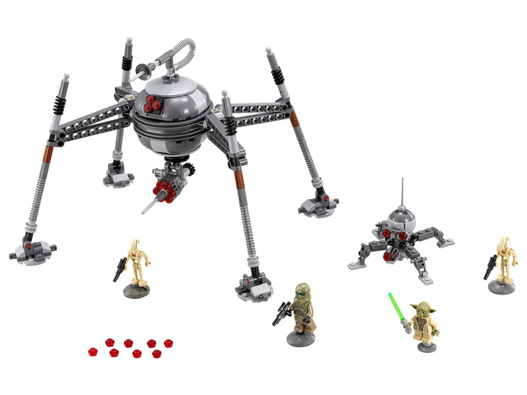 Lego Homing Spider Droid Star Wars Set Posted To Lego Server Overnight