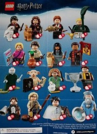LEGO Harry Potter 71022 Collectible Minifigures Series 1 ...
