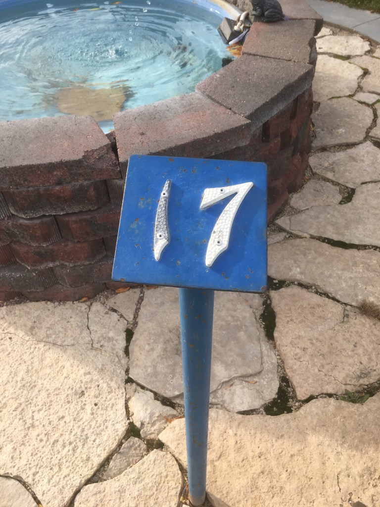 Hole 17 number