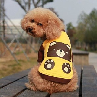 [USD $ 24.39]  - Pet Cute Cartoon Bear T Shirt for Pets Dogs(Assorted Colors,Sizes)