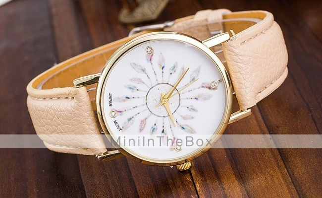 Vintage Feather Watches Womens Watches Vintage Ladies