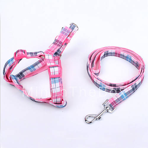 Dog Harness Leash Adjustable Retractable Safety Soft