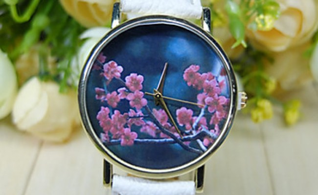 Vintage Flowers Watches For Women Womens Watches Retro