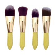 4pc makeup brushes set synthetic